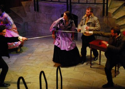 The Count of Monte Cristo (Lifeline Theatre, 2011 - photo by Paul Metreyeon)