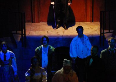 The Count of Monte Cristo (Lifeline Theatre, 2011 - photo by Paul Metreyeon)