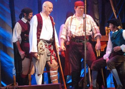 Treasure Island (Lifeline Theatre, 2009 - photo by Paul Metreyeon)