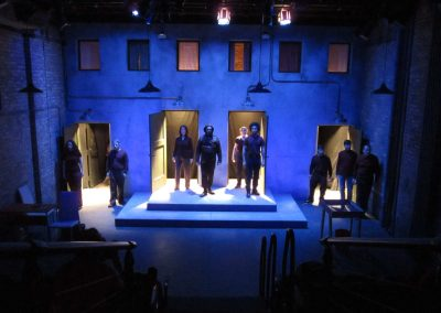 THE CITY AND THE CITY (Lifeline Theatre 2013) - photo by Kelsey Jorissen