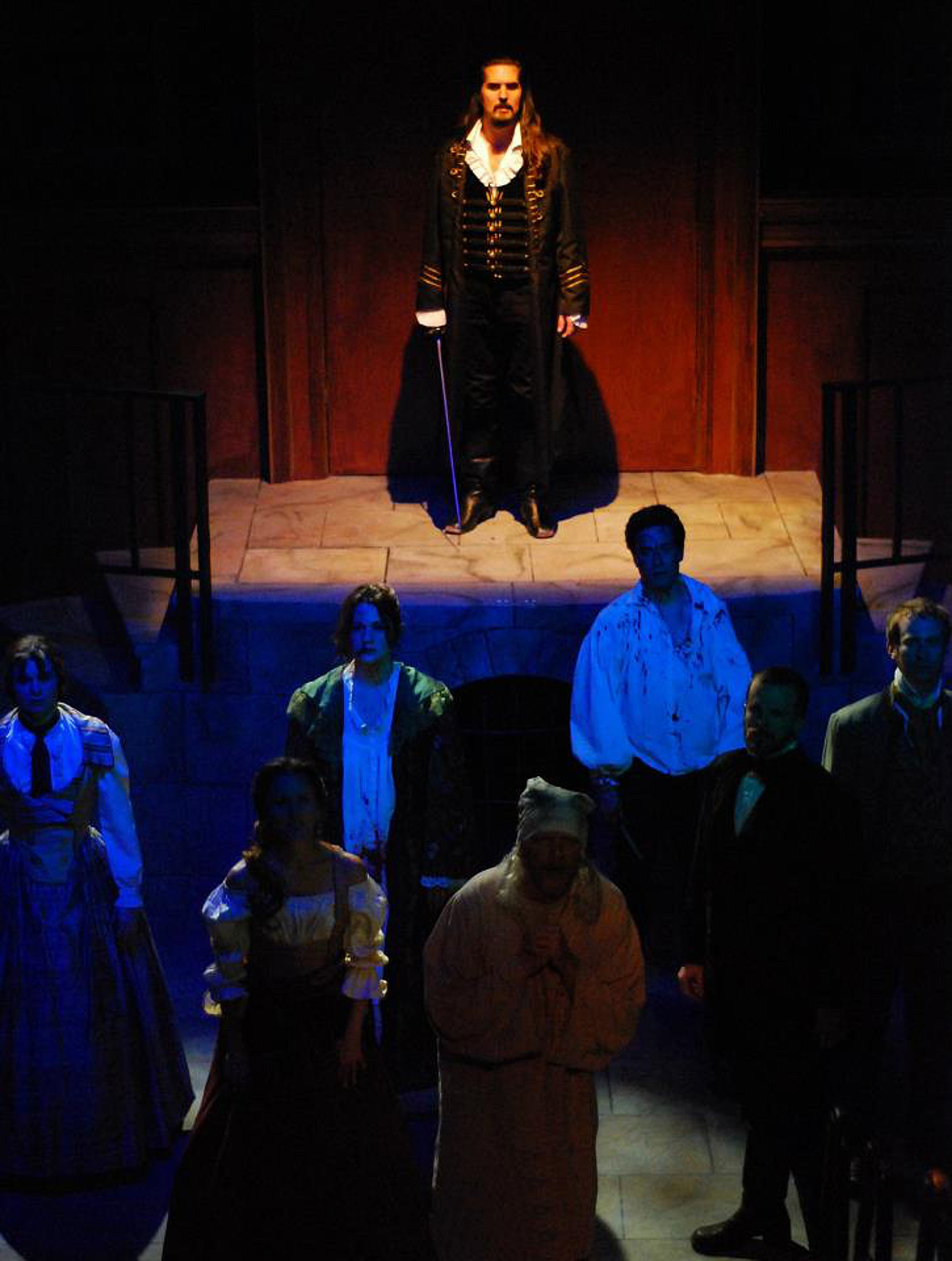 THE COUNT OF MONTE CRISTO (Lifeline Theatre, 2012) - photo by Paul Metreyeon