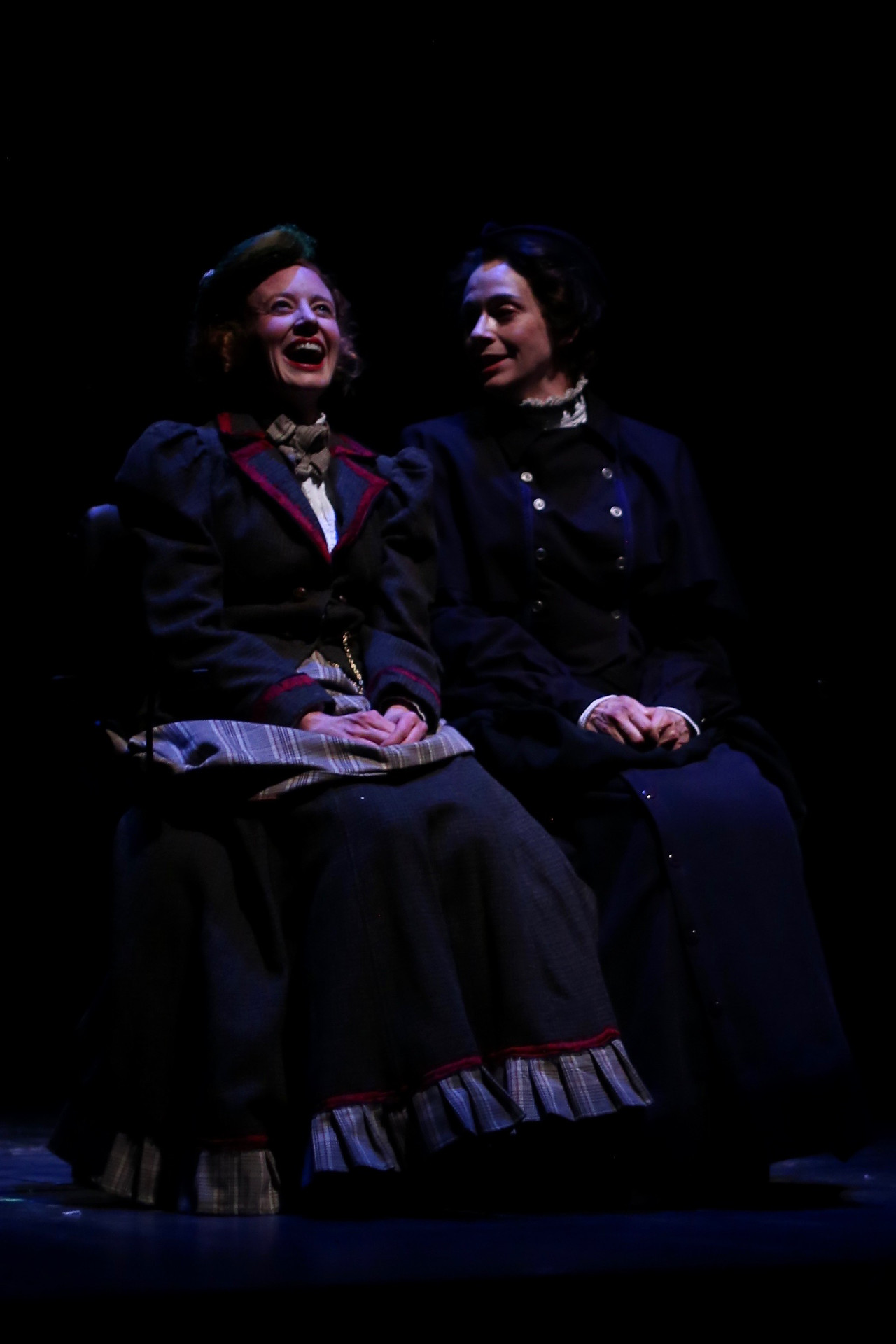 MISS HOLMES (Creede Repertory Theatre, 2018) - photo by John Gary Brown