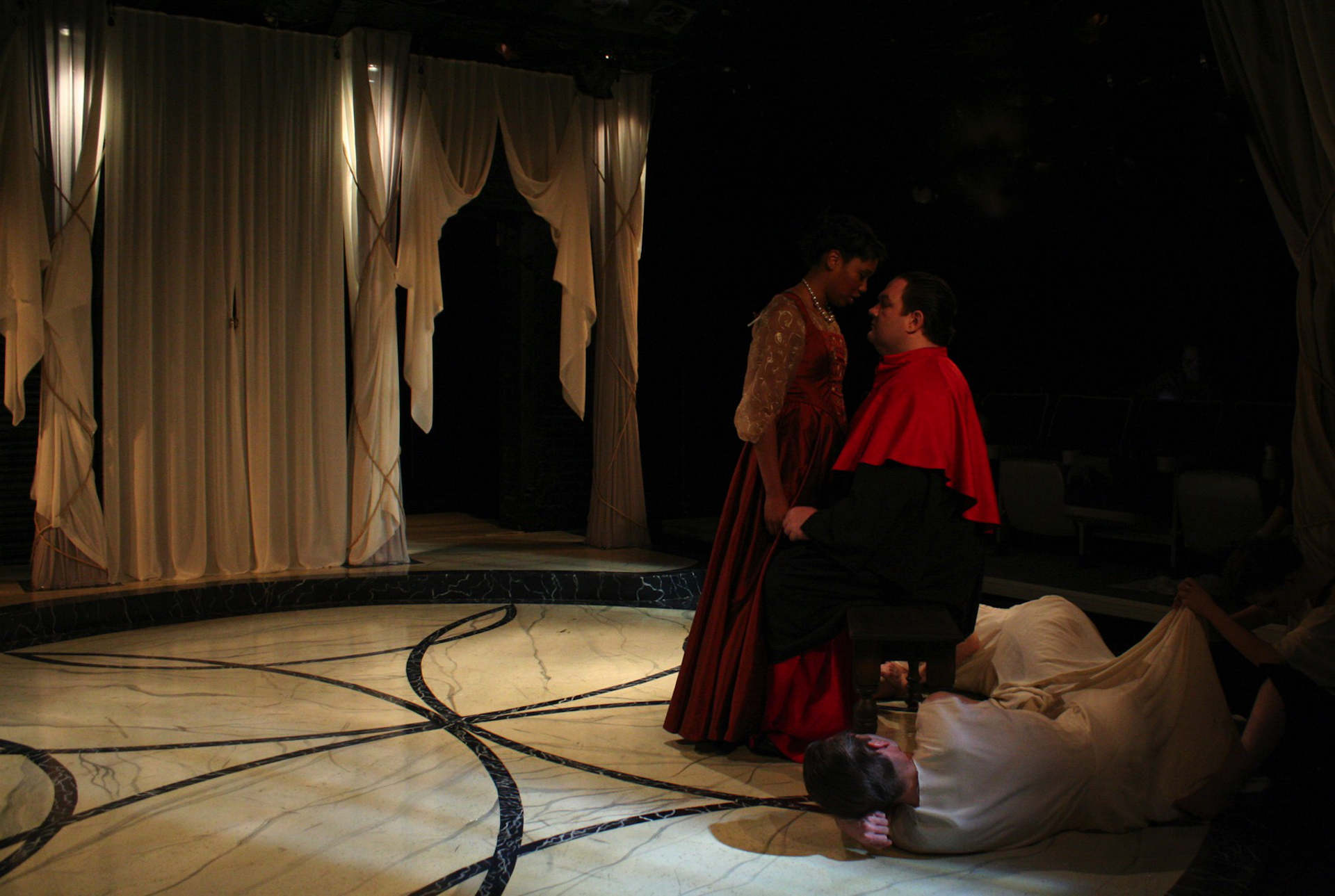THE DUCHESS OF MALFI (Strawdog Theatre, 2012 - photo by Joe Schermoly)