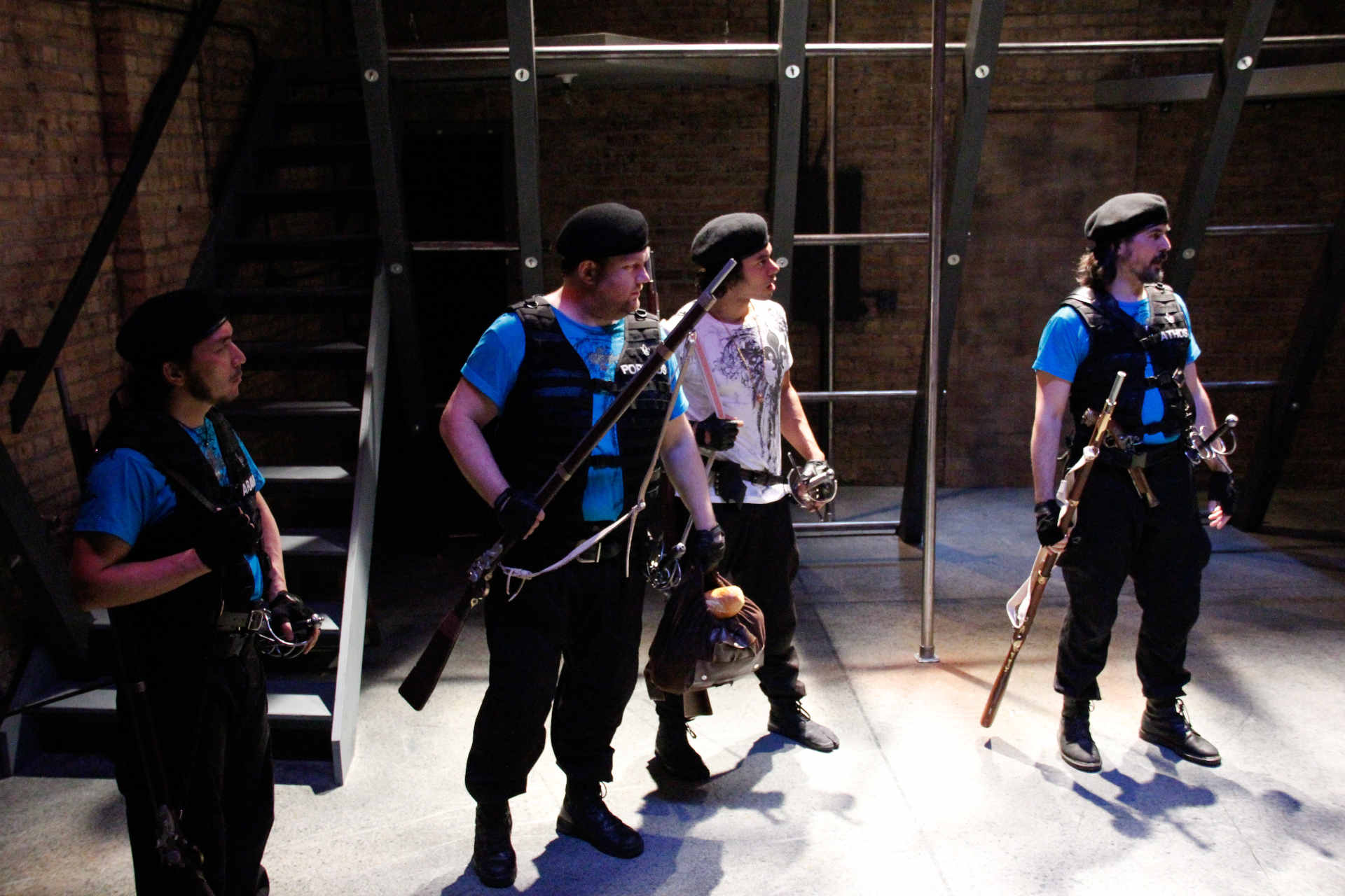 THE THREE MUSKETEERS (Lifeline Theatre, 2013)
